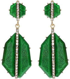 Amrita Singh Evergreen Art Deco Drop Earrings