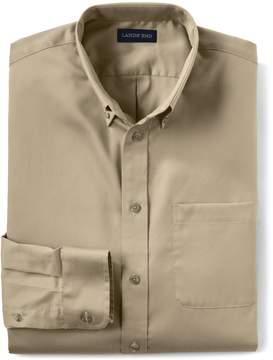 Lands' End Lands'end Men's Long Sleeve Performance Twill Shirt