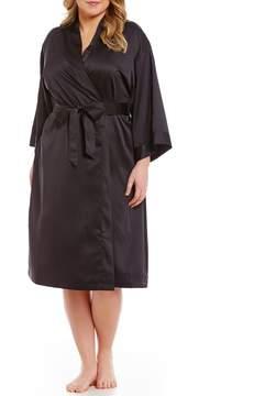 Cabernet Plus Satin Robe