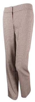 Nine West Women's Nostalgia Houndstooth Flared Trousers