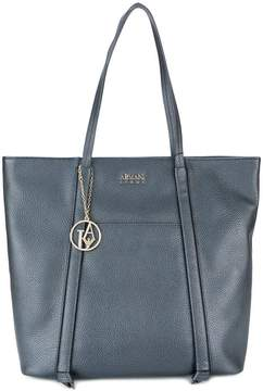 Armani Jeans piped detail shoulder bag