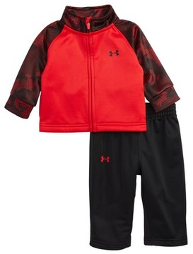 Under Armour Infant Boy's Utility Camo Track Jacket & Pants Set