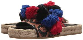 Etro Pom Pom Slide Women's Sandals
