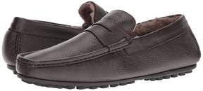 Matteo Massimo Freddo Geunine Lamb Lined Driver Men's Slip on Shoes
