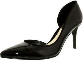 Lauren Ralph Lauren Lauren Ralph Women's Rube-Pm-Drs Leather Black Ankle-High Pump - 8M