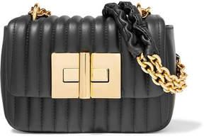 Tom Ford Natalia Mini Quilted Leather Shoulder Bag - Black