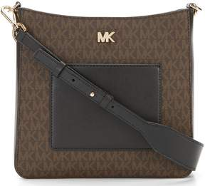 MICHAEL Michael Kors Gloria Pocket Colorblock Cross-Body Bag