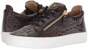 Giuseppe Zanotti May London Stamped Low Top Sneaker Men's Shoes