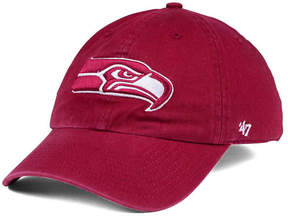 '47 Seattle Seahawks Cardinal Clean Up Cap