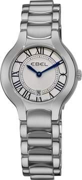 Ebel Beluga Silver Dial Stainless Steel Ladies Watch