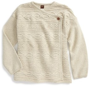 Tea Collection Toddler Girl's Catriona Knit Cardigan