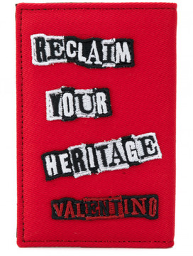 Valentino BEAUTY IS A BIRTHRIGHT RECLAIM YOUR HERITAGE wallet