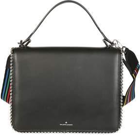 Les Petits Joueurs Embellished Edge Shoulder Bag