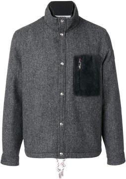 Moncler Gamme Bleu chest pocket jacket