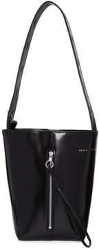 Kara Black Panel Pail Bag