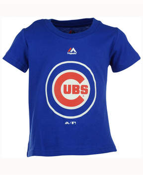 Majestic Mlb Chicago Cubs T-Shirt, Little Boys (4-7)