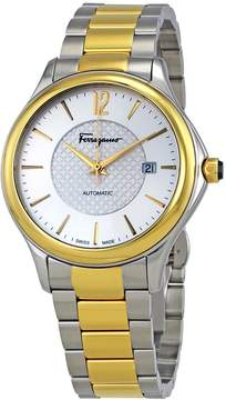 Salvatore Ferragamo Time Silver Dial Automatic Men's Watch