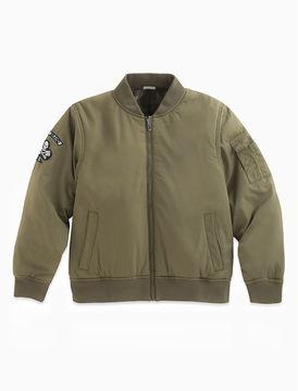 Lucky Brand Bomber Reversible Jacket