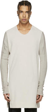 Julius Grey Bi Fabric Crewneck