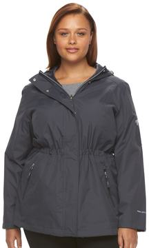 Free Country Plus Size Hooded Reversible Anorak Jacket