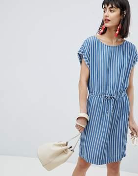 Esprit Stripe Denim Tunic Dress