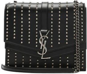 Saint Laurent Medium Studded Monogramme Sulpice Chain Bag