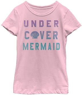 Fifth Sun Pink 'Mermaid Cover' Tee - Girls