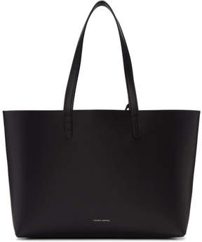 Mansur Gavriel Black Leather Small Tote