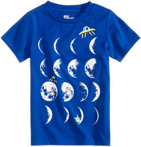 Epic Threads Glow-In-The-Dark Moon Graphic-Print T-Shirt, Toddler Boys (2T-5T), Created for Macy's