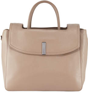 Halston Large Tote Bag with Flap