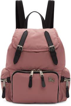 Burberry Pink Medium Backpack