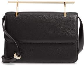 M2Malletier Fleur du Mal Lux Leather Shoulder Bag