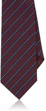 Giorgio Armani Men's Striped Silk Jacquard Necktie