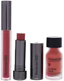 N.V. Perricone No Makeup Beautiful Lips & Cheeks 3pc Kit