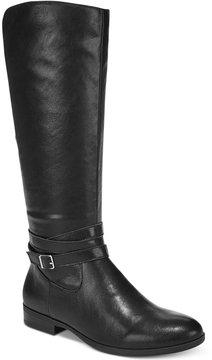 Style&Co. Style & Co Keppur Wide-Calf Riding Boots, Created for Macy's Women's Shoes