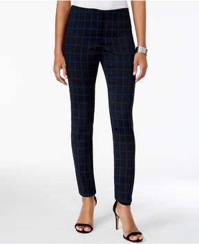 Alfani Printed Skinny Pants, Created for Macy's