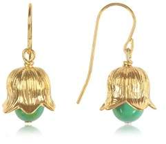 Aurelie Bidermann Women's Green Steel Earrings.