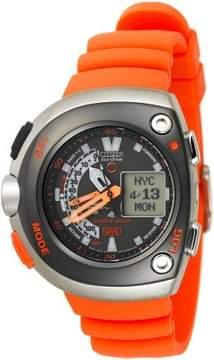 Citizen Men's JV0020-21F Eco-Drive 20th Anniversary Aqualand Orange Metric Dive Watch