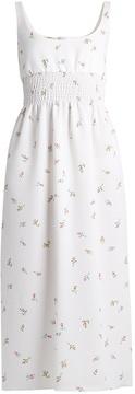 Emilia Wickstead Giovanna floral-print cloqué dress