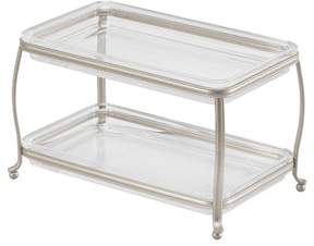 InterDesign York Lyra Double Vanity Organizer Tray - InterDesign®