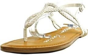 American Rag Keira Women Open Toe Synthetic White Thong Sandal.