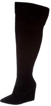 Pour La Victoire Suede Over-The-Knee Boots