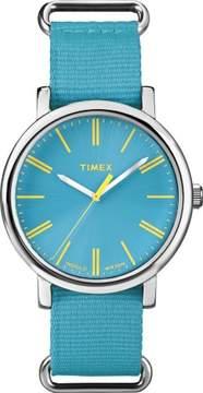 Timex Unisex Blue Weekender Easy Read Watch