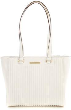 Donna Karan Cathy Pinstripe Quilted Tote