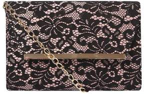 Black Lace Magdot Clutch Bag