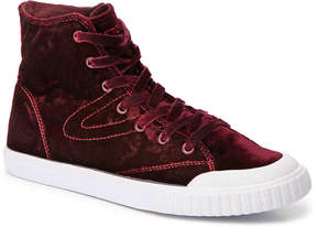 Tretorn Women's Marley Velvet High-Top Sneaker - Women's's