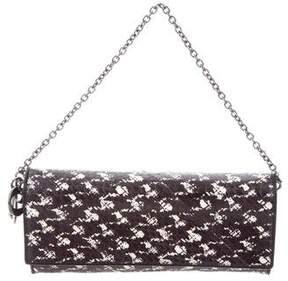 Christian Dior Python Croisiere Wallet On Chain