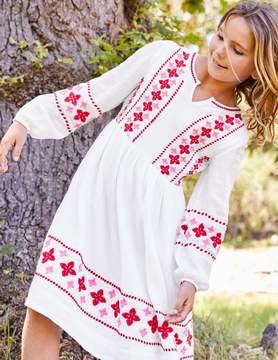 Boden Embroidered Boho Dress