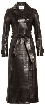 Frame Women's Leather Trench Coat