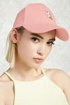 Forever 21 Unicorn Graphic Dad Cap